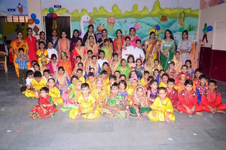 Om Internation Public School-Cultural Program
