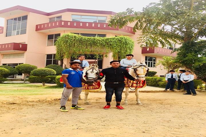 Om Internation Public School-Horse Riding