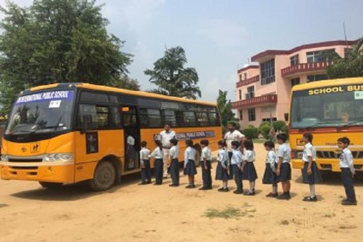 Om Internation Public School-Transport Facility