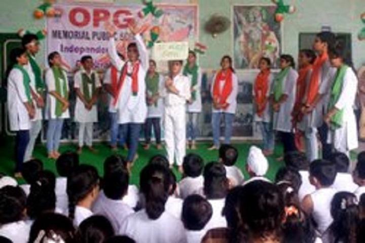 Om Parkash Garg Memorial Public School-Event