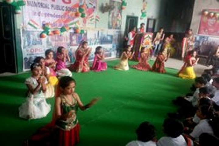 Om Parkash Garg Memorial Public School-Group Dance