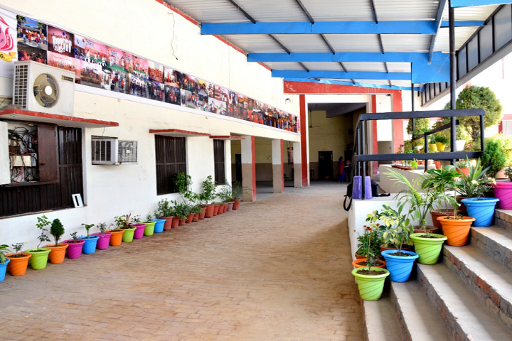 Om Parkash Garg Memorial Public School-Living Area