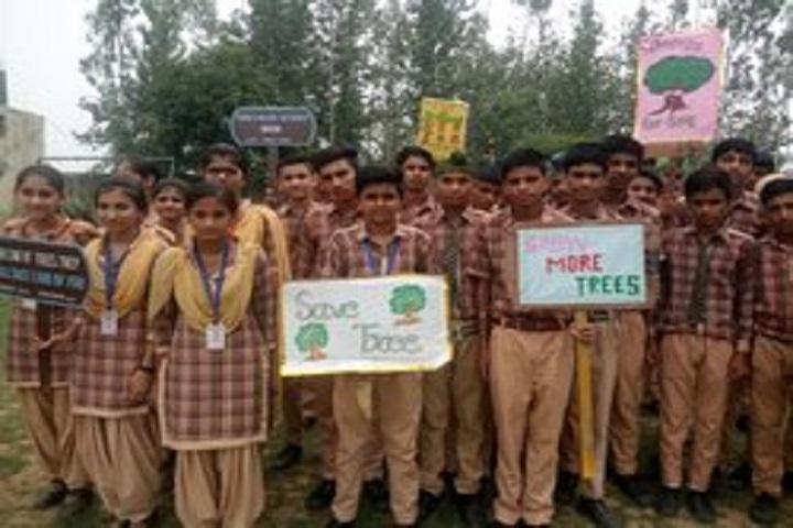Om Parkash Garg Memorial Public School-Save Tree