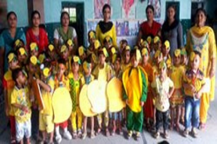Om Parkash Garg Memorial Public School-Yellow Day Celebration