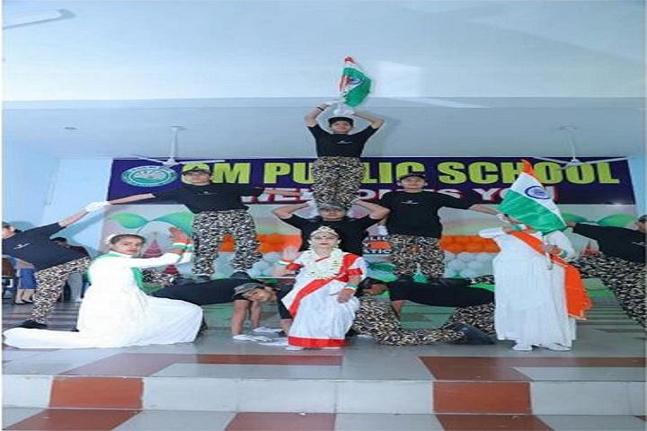 Om Public School-Dance Performance