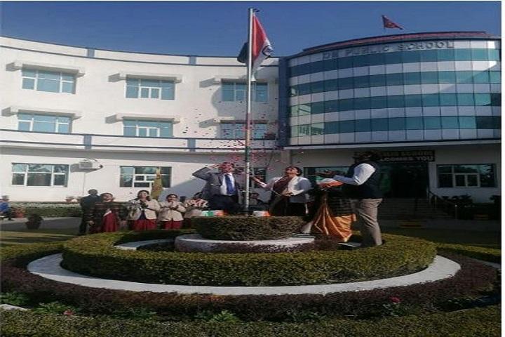 Om Public School-Flag Hosting