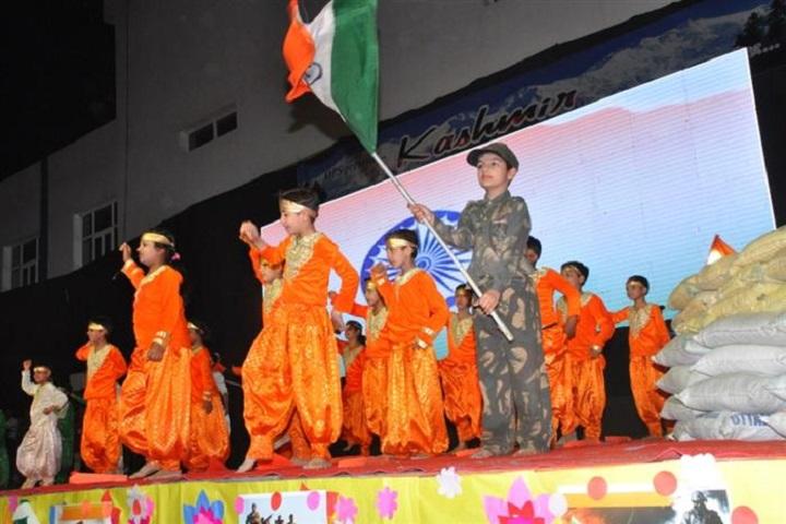 Om Public School-Patriotic Dance