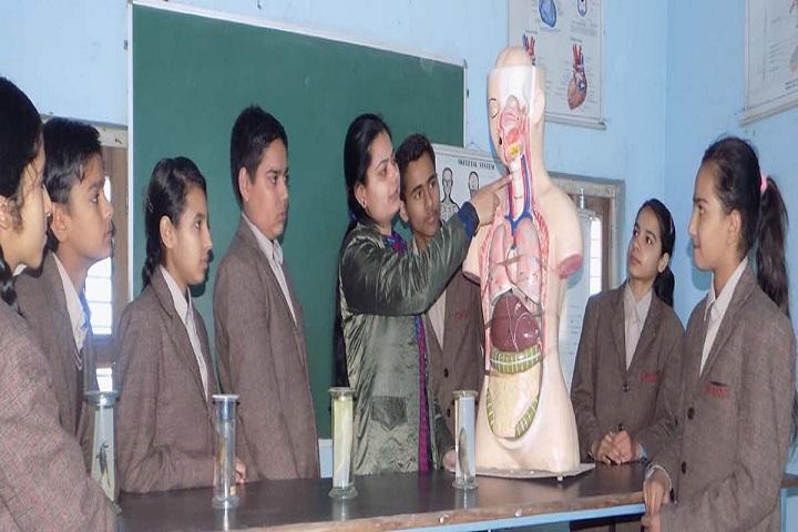 Om Shanti Shiksha Sadan Senior Secondary School-Biology Lab