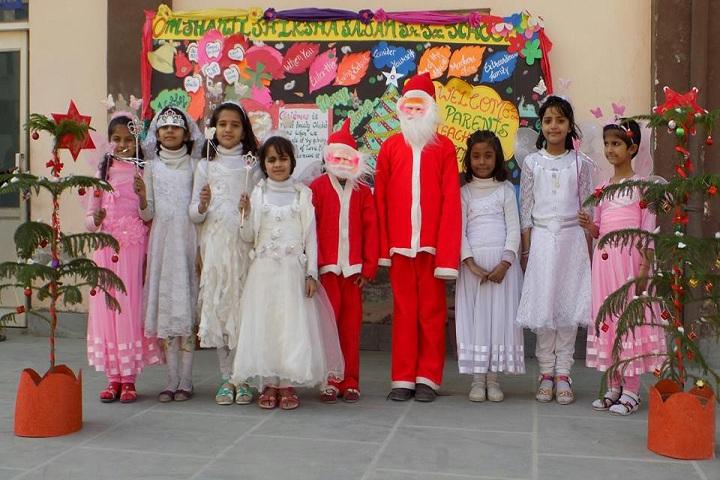 Om Shanti Shiksha Sadan Senior Secondary School-Christmas Day Celebrations
