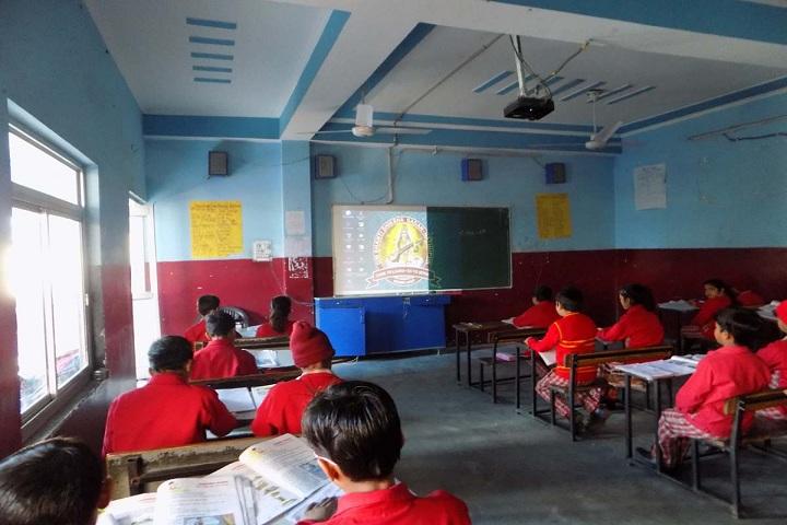 Om Shanti Shiksha Sadan Senior Secondary School-Smart Classroom