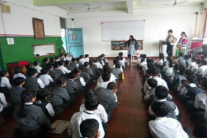 Ops Vidya Mandir-Declamation Competition