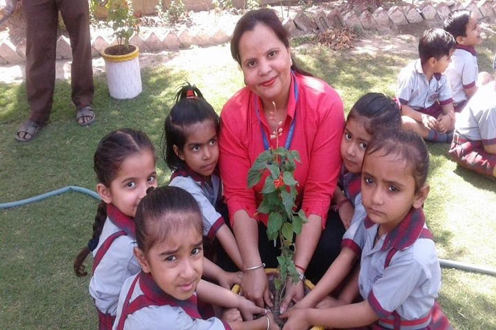 Ops Vidya Mandir-Earth Day Celebrations