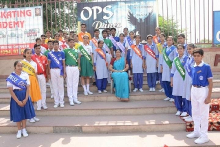 Ops Vidya Mandir-Investiture Ceremony