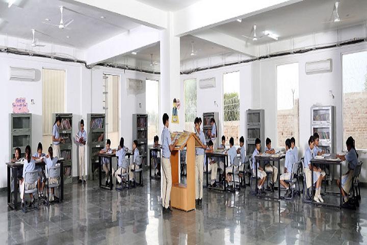 Opy World School-Library room