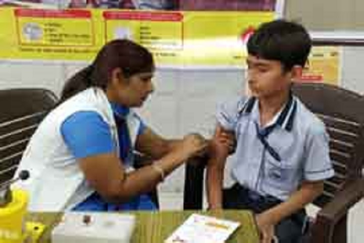 P K R Jain Public School-Medical Camp