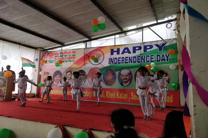 Paramhansa Senior Secondary School-Independence Day Celebrations