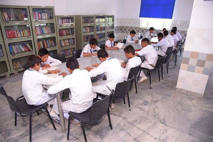 Paramhansa Senior Secondary School-Library