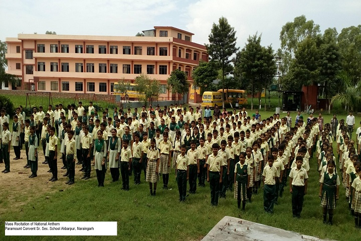 Paramount Convent Senior Secondary School-Assembly