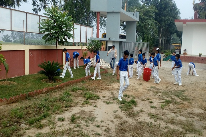 Paramount Convent Senior Secondary School-Swatchh Bharat Program
