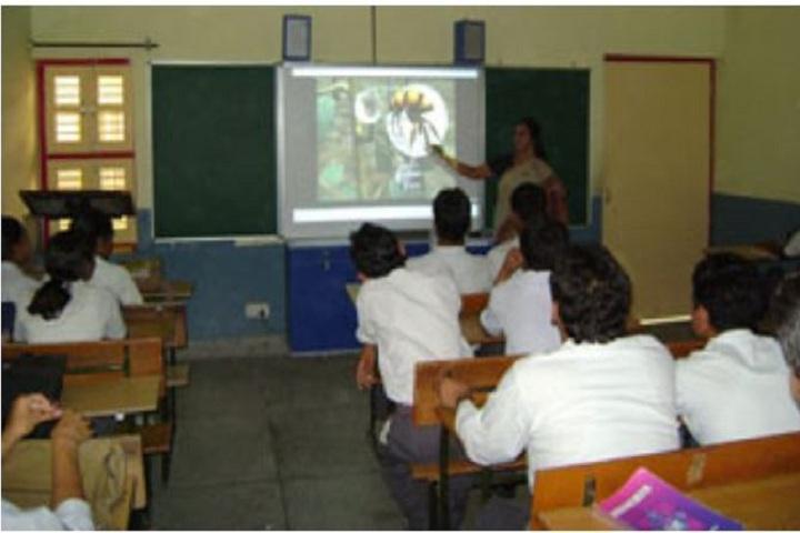 Paramount Senior Secondary School-Smart Classroom