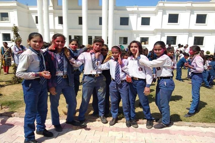 Paramount Senior Secondary School-Holi celebration