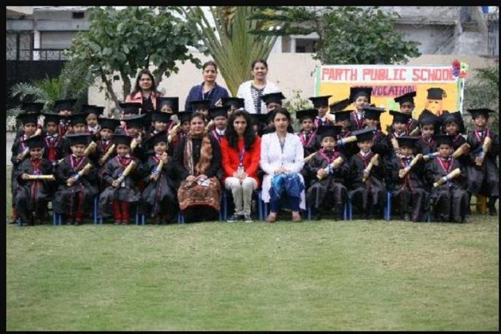 Parth Public Senior Secondary School-Convocation