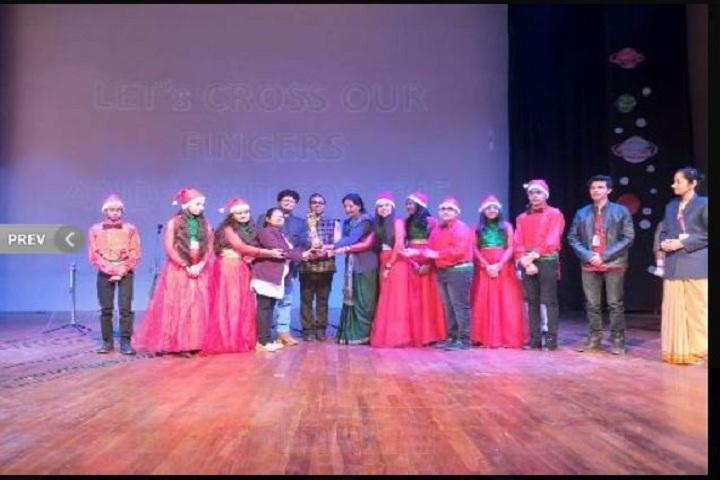 Parth Public Senior Secondary School-Inter House Carol Singing