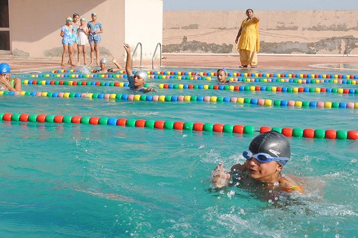 Prabhu Dayal Memorial Public School-Swimming Competition