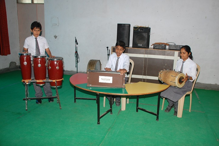 Pioneer Convent School-Music Room