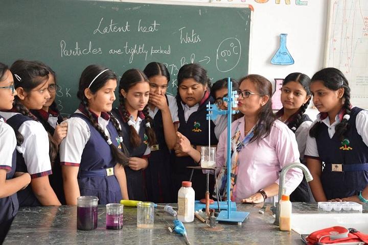 P K R Jain Vatika-Chemistry Lab