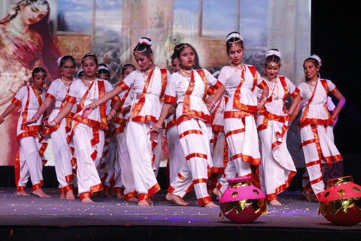 Pole Star Public School-Classical Dance Performance