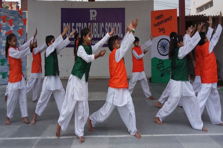 Pole Star Public School-Independence Day