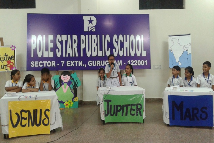 Pole Star Public School-Quiz Competition