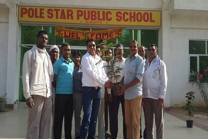 Pole Star Public School-Tree Plantation