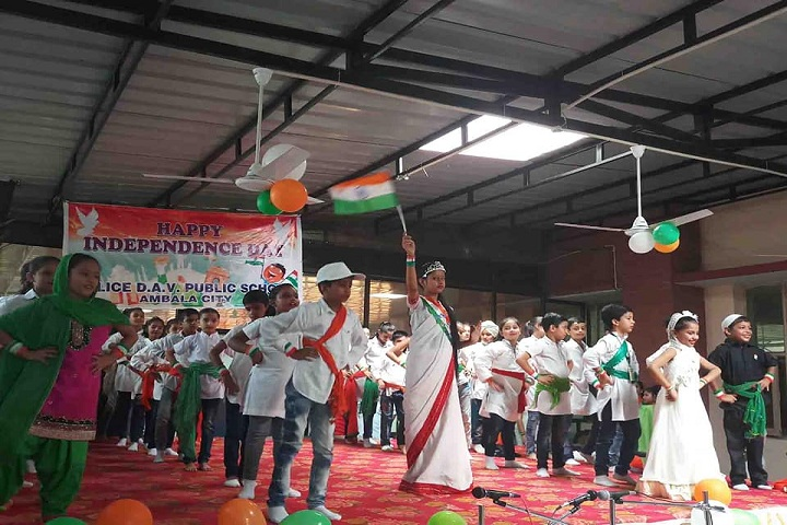 Police Dav Public School-Independence Day Celebrations