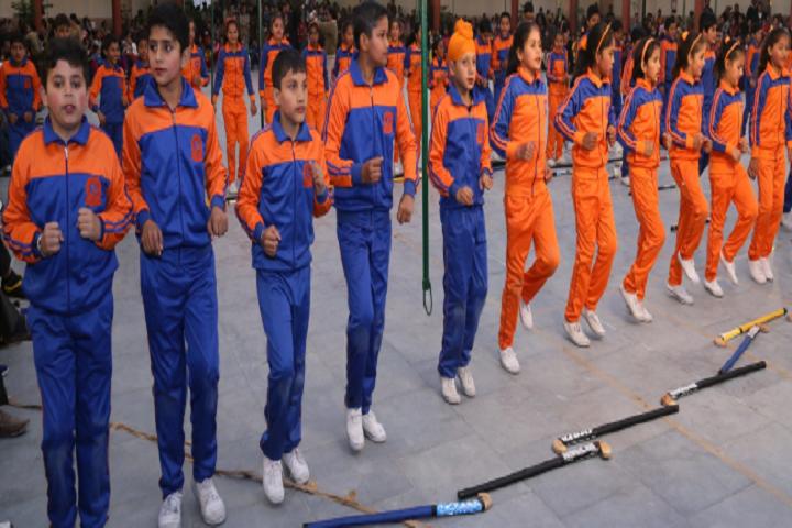 Police Dav Public School-Sports Day