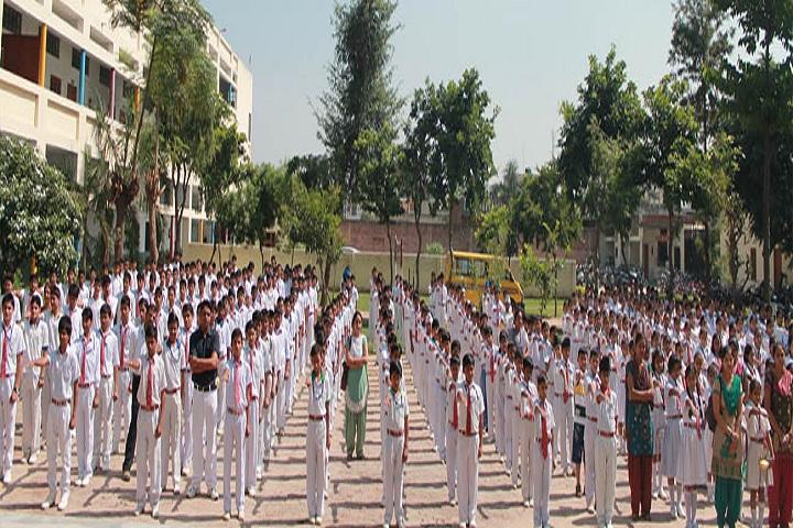 Pooja Modern Public School-Assembly