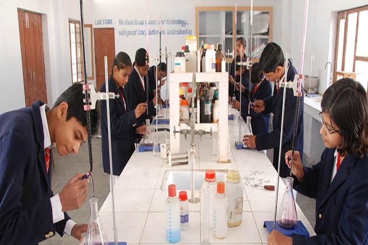 Pooja Modern Public School-Chemistry Lab