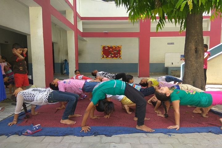 Pooja Modern Public School-Fitness Activity