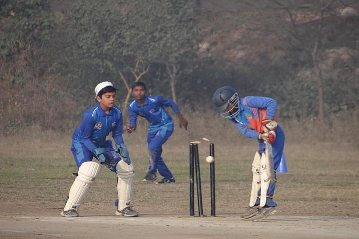 Pooja Modern School-Cricket Match