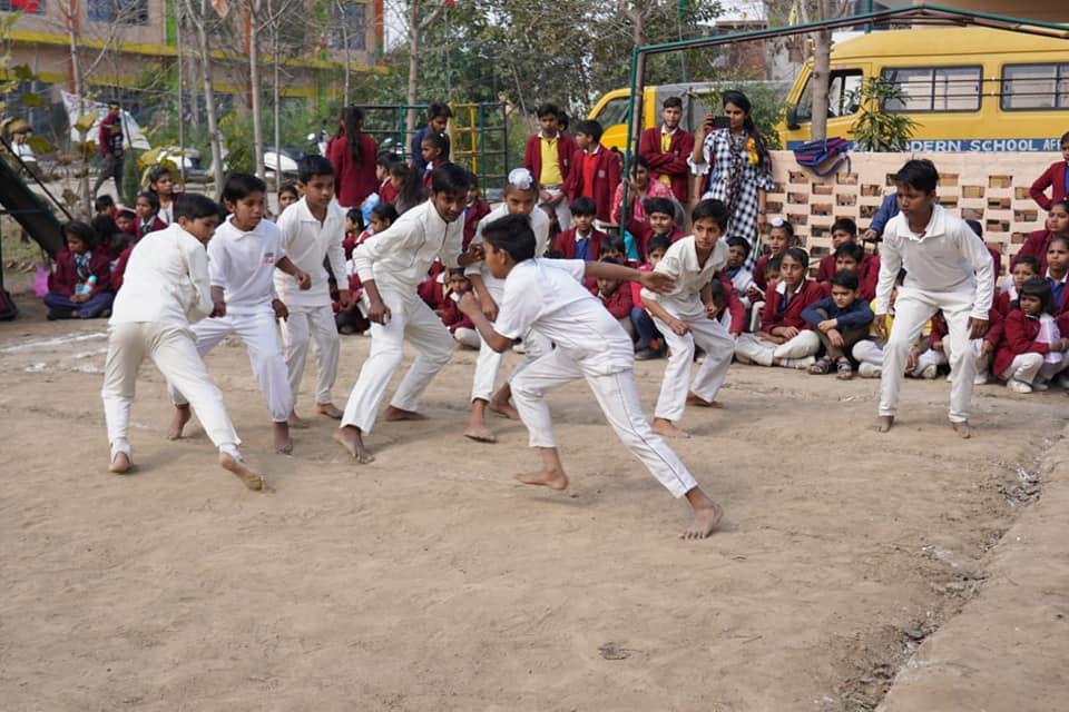 Pooja Modern School-Games