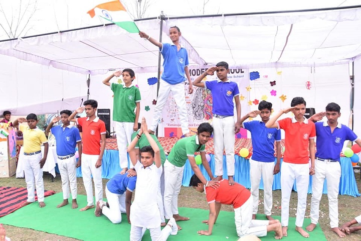 Pooja Modern School-Independence Day Celebration