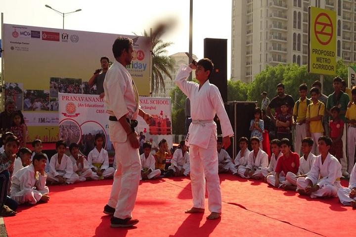Pranavananda International School-Karate Class
