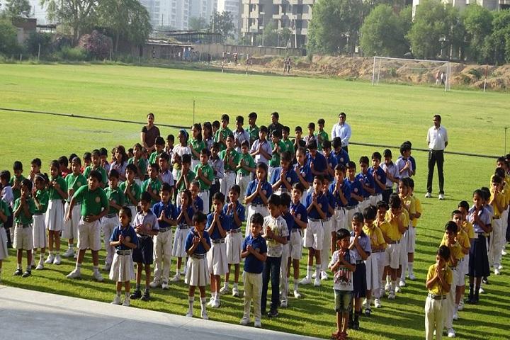 pranavanada International School-Assembly