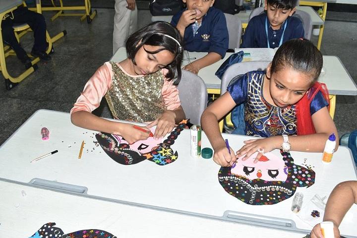 Prayaag International school-Art Class