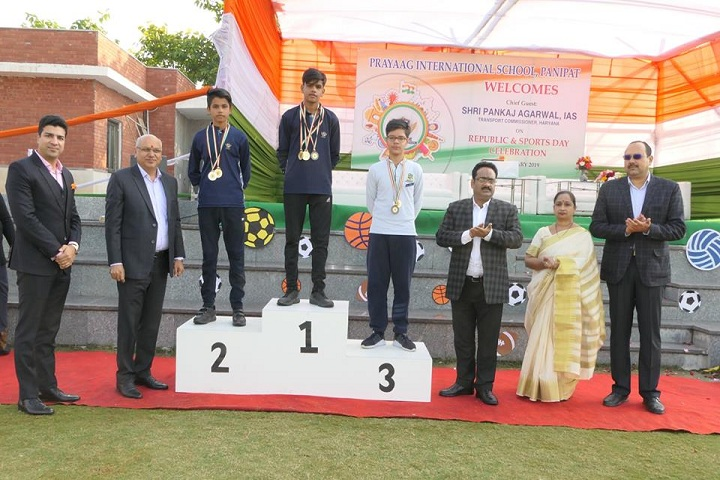 Prayaag International school-Athletic Meet