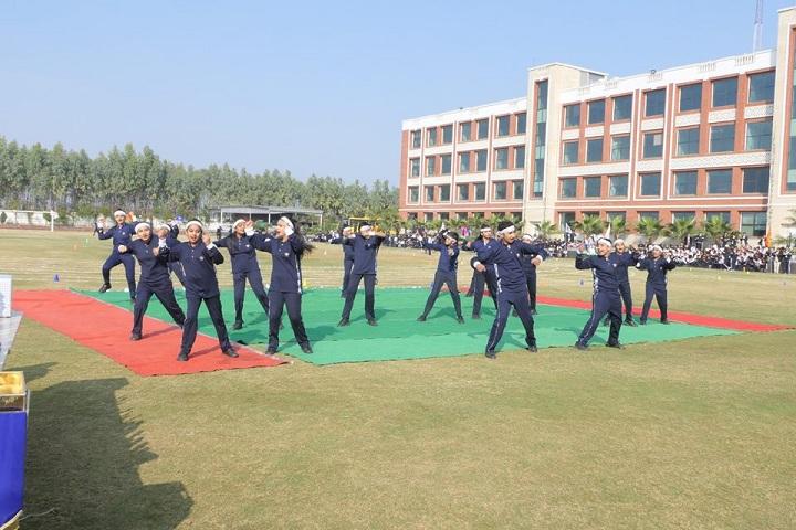 Prayaag International school-Exercise Class