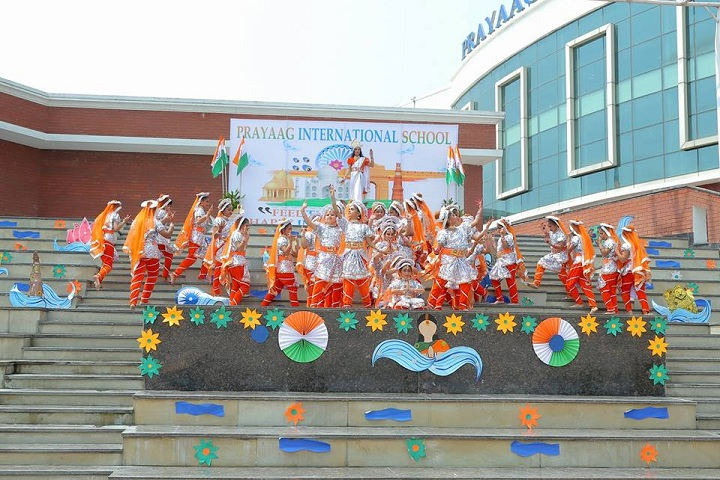 Prayaag International school-Independence Day Celebrations