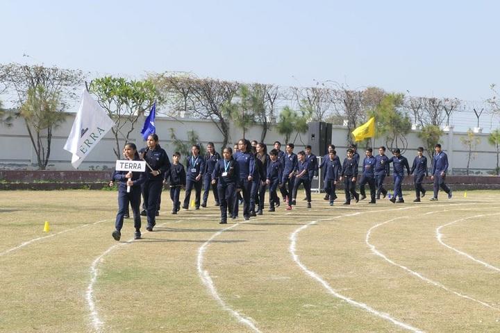 Prayaag International school-Marching