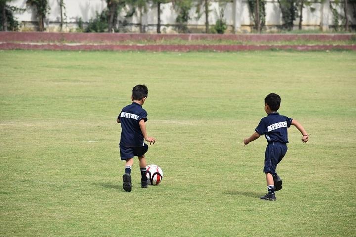 Prayaag International school-Play Ground